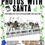 Photos w/ Santa