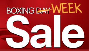 2020 Boxing Week Sale!!