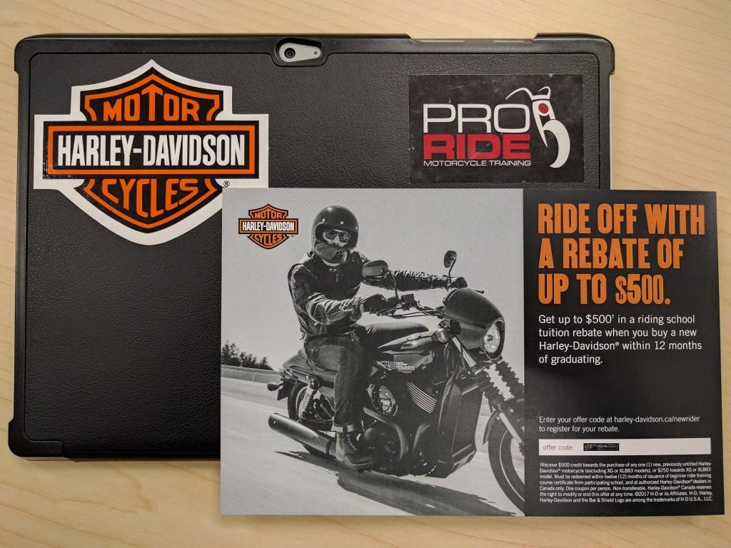 2017 Harley-Davidson Tuition Credit