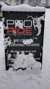 Winter Wonderland @ ProRide