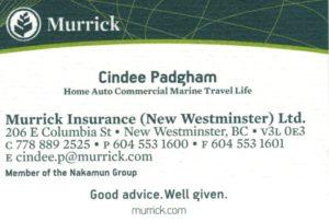 Cindee Padgham Murrick Insurance